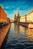 Church of the Savior on Spilled Blood in St Petersburg Royalty Free Stock Images
