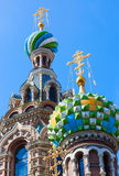 Church of the Savior on Spilled Blood in St. Petersburg Stock Images
