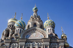 Church of the Savior on Spilled Blood in St. Petersburg Royalty Free Stock Images