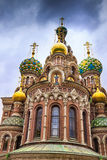 The Church of the Savior on Spilled Blood in St. Petersburg, Rus Stock Photo