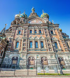 Church of the Savior on the Spilled Blood in St. Petersburg, Rus Stock Images