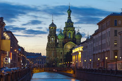 Church of the Savior on Spilled Blood. St. Petersburg, Russia Stock Images