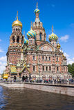 Church of the Savior on Spilled Blood in St. Petersburg, Russia Stock Photography