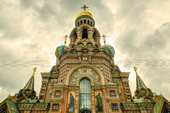 Church of the Savior on Spilled Blood, St Petersburg. Church of the Savior on Spilled Blood in St. Petersburg, Russia Royalty Free Stock Photo