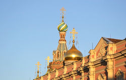 Church of the Savior on Spilled Blood. Stock Photo