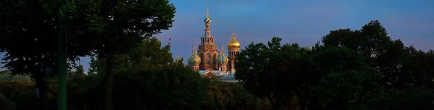 Church of the Savior on spilled blood (St. Petersburg, Russia) Stock Photo