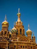 Church of the Savior on Spilled Blood, St. Petersburg. Russia Stock Image