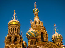 Church of the Savior on Spilled Blood, St. Petersburg. Russia Stock Photos