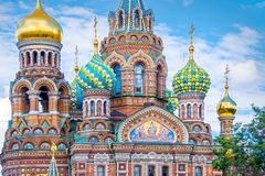 Church of the Savior on Spilled Blood, St Petersburg Russia Royalty Free Stock Images