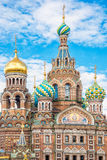 Church of the Savior on Spilled Blood, St Petersburg Russia. Church of the Savior on Spilled Blood in St Petersburg Russia Royalty Free Stock Photography