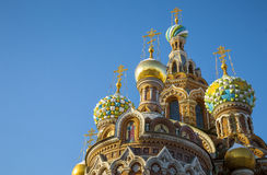 The Church of the Savior on Spilled Blood in St. Petersburg Stock Photo