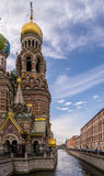 The Church of the Savior on Spilled Blood. In St Petersburg Russia Stock Photography