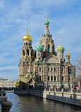 Church of the Savior on Spilled Blood in St.Petersburg, Russia. Stock Photography