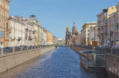 The Church of the Savior on Spilled Blood in St. Petersburg, Russia Stock Photography