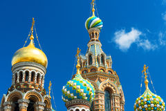 Church of the Savior on Spilled Blood in St Petersburg, Russia. Church of the Savior on Spilled Blood (Cathedral of the Resurrection of Christ) in Saint Royalty Free Stock Photography