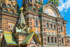 Church of the Savior on Spilled Blood in St Petersburg, Russia Royalty Free Stock Photo