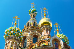 Church of the Savior on Spilled Blood in St Petersburg, Russia Royalty Free Stock Photos