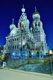 Church of the Savior on Spilled Blood in St. Petersburg Royalty Free Stock Photo