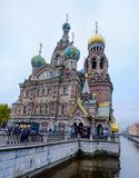 Church of the Savior on Spilled Blood royalty free stock photo