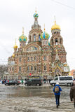 Church of the Savior on Spilled Blood, St. Petersburg, Russia Royalty Free Stock Photography