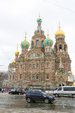 Church of the Savior on Spilled Blood, St. Petersburg, Russia Stock Image