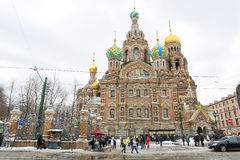 Church of the Savior on Spilled Blood, St. Petersburg, Russia Royalty Free Stock Photos