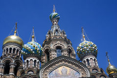 The Church of the Savior on Spilled Blood in St. Petersburg, Russia. Royalty Free Stock Photography