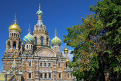 Church of the Savior on Spilled Blood, St. Petersburg Royalty Free Stock Images