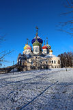 Church of the Savior Transfiguration Metochion Patriarch of Moscow Stock Photography