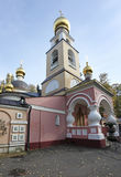 Church of the Savior of the Transfiguration in Peredelkino, Moscow Royalty Free Stock Photo