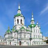 Church of the Savior in Tyumen, Russia Stock Photography