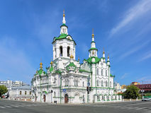 Church of the Savior in Tyumen, Russia Stock Photos