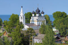 Church of Saviour All-Merciful in Belozersk, Russia Royalty Free Stock Images