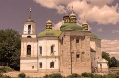 The Church of the Saviour at Berestovo, Kiev-Pechersk Lavra, Kyiv, Ukraine Royalty Free Stock Photo