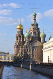 Church of the Saviour on the Blood Stock Images