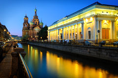 Church of the Saviour on Blood. Church of the Saviour on Spilled Blood, St. Petersburg, Russia Stock Photo