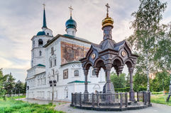 Church of the Saviour in Irkuts,  Russia Royalty Free Stock Photo