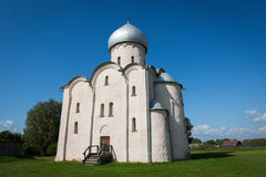 Church of the Saviour on Nereditsa. Novgorod. Russia. Royalty Free Stock Photo