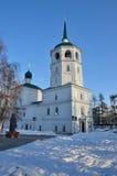 Church of the Saviour Spasskaya in Irkutsk Stock Photography