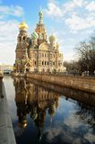 Church of the Saviour on Spilled royalty free stock photos
