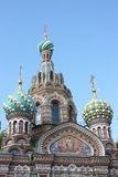 Church of the Saviour on Spilled Blood. Stock Image