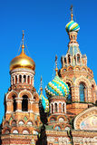 Church of the Saviour on Spilled Blood Stock Photography