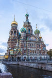 Church of the Saviour on Spilled Blood Stock Images