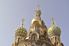 Church of the Saviour on Spilled Blood or Cathedral of the Resurrection of Christ, St. Petersburg Royalty Free Stock Image