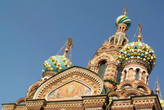 Church of the Saviour on Spilled Blood or Cathedral of the Resurrection of Christ, St. Petersburg Royalty Free Stock Photos