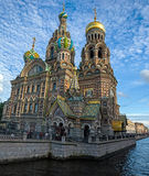 Church of the Saviour on Spilled Blood , Griboedova Canal Stock Images