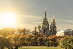 Church of the Saviour on Spilled Blood, Russia Stock Image
