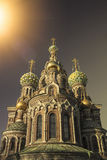 Church of the Saviour on Spilled Blood, Russia Royalty Free Stock Images