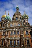 Church of the saviour and the spilled blood Royalty Free Stock Images