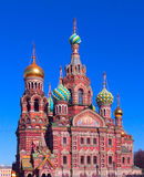Church of the Saviour on Spilled Blood Royalty Free Stock Photo